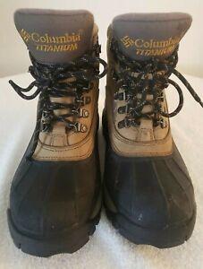 Columbia Titanium Omni Tech Buga Boot Composite HToe Rubber Sole Boots S8