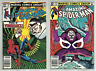 AMAZING SPIDERMAN #240 & #241 NEWSSTAND 1983 VULTURE COVER & STORY! ORIGIN TOLD!
