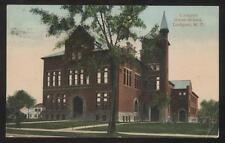 Postcard LOCKPORT New York/NY  Union High School Campus Building view 1907