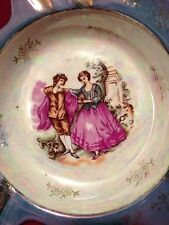 Antique Royal Vienna Hand Painted Dancing Courting Couple Ashtray Beehive 55/393