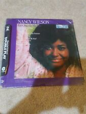 Nancy Wilson For Once In My Life/Who Can I Turn To dbl lp RARE!