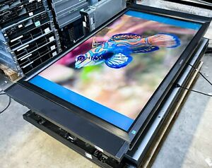 """Used Mitsubishi LDT551V 55"""" Wide LCD Commercial Monitor 1080p 1920x1080 Speakers"""