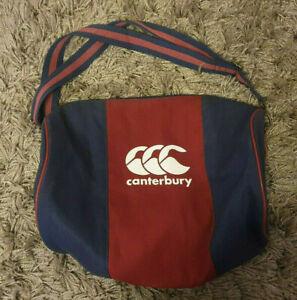 Canterbury CCC Red/Blue - Gym/Rugby/Sport Bag