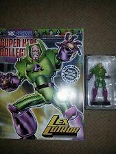 DC Comics Super Hero figurine collection #11 Lex Luthor Figure + Magazine 2008