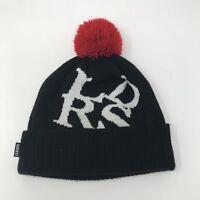 Leaders Chicago 1354 x New Era Black Skully Cap Pom Beanie Streetwear Winter Hat