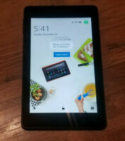 Amazon Kindle Fire Tablet Hd 6, 4th generation - 8gb, Black. (Can Register)
