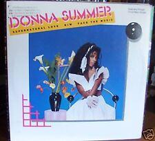 """Donna Summer 12""""  45 Supernatural Love PROMO"""