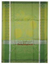 Garnier Thiebaut CITRON LEMON French Cotton Woven Tea/Dish/Kitchen Towel New