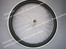 700C full carbon wheels with aluminum brake surface 50mm deep only rear!