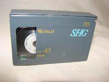 Vintage FUJI EC-45 SHG VHS-C Video Cassette Tape
