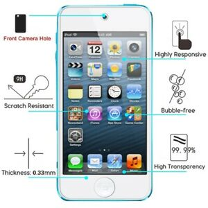 For Apple iPod Touch 7 6 5th Gen Premium Screen Protector Guard Tempered Glass