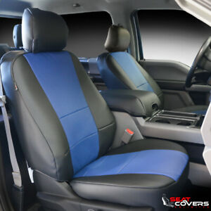 2 Front Seat Covers for Cars Waterproof Leather Non-Slip Captain Seat Covers Universal Fit for Civic 4Runner Corolla Pilot Rogue Murano Pathfinder Armada Forte 2 PCS Front, Black