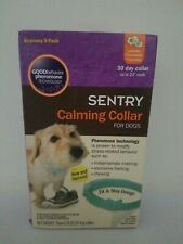 Sentry Calming Collar for Dogs, Up to 23-Inch Neck, Includes Three Dog Calming