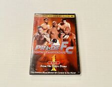 PRIDE FC Fighting Championships #1 MMA Mixed Martial Arts DVD NEW Sealed