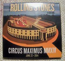 "ROLLING STONES ""CIRCUS MAXIMUS MMXIV"" LIVE DOUBLE CD ROMA CIRCO MASSIMO 2014"