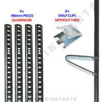 SHELF MOUNTING BRACKETS RAILS CLIPS FOR 2 3 4 DOOR UNDER COUNTER FRIDGE FREEZER