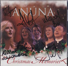 ANUNA SIGNED CHRISTMAS STORIES CD BORDERS NYC  CELTIC WOMAN SHOWSTUFF