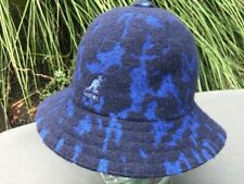KANGOL Marbled Casual Bucket Blue  Hat Cap COOL Small    NEW !!