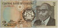 LESOTHO - 2 MALOTI (1989) - Billet de banque (NEUF)