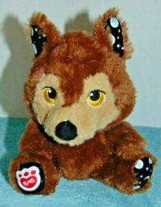 """Build a Bear Werewolf Moons a Glow Teddy 7"""" Buddies Wolf Plush"""