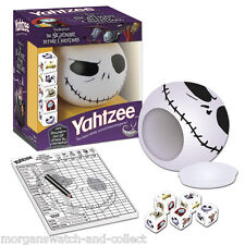 The Nightmare Before Christmas YAHTZEE Collector's Edition JACK SKELLINGTON CUP