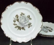 Schumann MOON ROSE 3 Salad Plates GREAT CONDITION