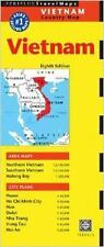 Vietnam Travel Map Eighth Edition by Periplus Editions Staff (2014, Map,...