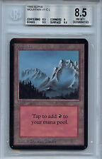 MTG Alpha Mountain Land V1 BGS 8.5 NM-MT+ Magic Card 4193