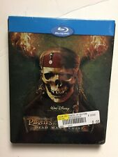 Pirates of the Caribbean Dead Man's Chest (Blu-ray, 2009) Best Buy Steelbook