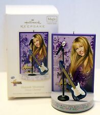 HANNAH MONTANA MILEY CYRUS HALLMARK SINGING ORNAMENT 2008 Disney guitar