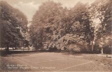 Surrey -  CARSHALTON, Barrow Hedges  School,  The Grass Tennis Courts