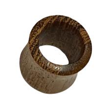 12 mm Piercing Tunnel Bois Teck Bijou Ethnique Unisexe Inde Indien