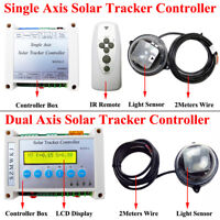 SZMWKJ Sun Track Electronic Controller for Single/Dual Axis Solar Panel Tracking