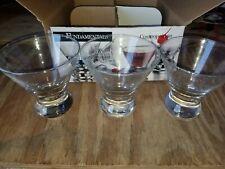 Libbey Fundamentals Cosmopolitan 3 Piece Glassware Set MISSING 1 GLASS