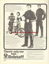 BelStaff Clothing Motorcycle 1976 Magazine Advert #407
