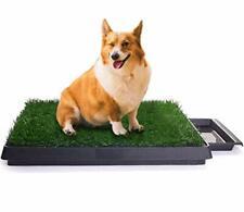 Sailnovo Inodoro para Mascotas Perro Césped Interior Orinal Perro (verde)