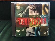 DUKE ROBILLARD TEMPTATION 1994 BLUES ROCK CD