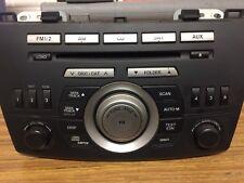 2010-2013 Mazda 3 Radio Stereo MP3 6 Disc CD Player BBM2