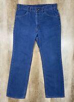 Vtg Levi's For Men Skosh More Comfort Light Blue Jeans 34x30 USA Orange Tab 80s