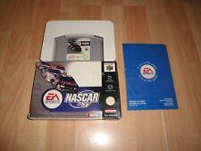 NASCAR 99 DE ELECTRONIC ARTS PARA LA NINTENDO 64 N64 USADO EN BUEN ESTADO
