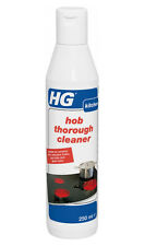 HG Hob Thorough Cleaner 250ml Cleans Baked On Food on Ceramic Halogen Glass Hobs