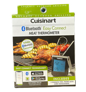Cuisinart Bluetooth® Easy Connect Meat Thermometer – Brand New