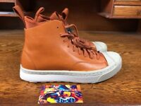 Converse Jack Purcell S-Series Sneaker Boot Hi 153936C Mens Leather Size 5/6/6.5