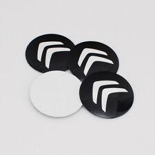 4PCS 56mm Car Wheel Center Caps Rim Hub Cover Emblem Decal Stickers For Citroen