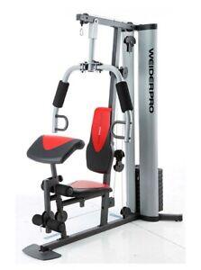 Weider Home Gym System, Versatile Exercise Machine, 125-Pound Weight Stack