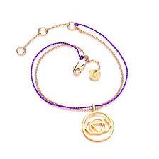 Marguerite London SOLDE! nuit sourcil chakra bracelet avec chaîne en Or & violet