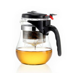 Heat Resistant Glass Teapot Chinese Kung Fu Tea Set Puer Glass Coffee Kettle New