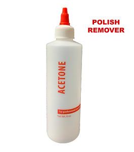 ACETONE 115ml Nail Polish Remover 100% Pure SNS Gel Acrylic Soak Off  System