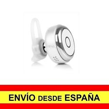 Mini Auricular Bluetooth 4.1 Manos Libres Batería Recargable BLANCO  a2782
