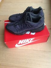 Mens Nike Air Max 95 Ultra SE Trainers Uk Size 8.5 With Box Black/Dark Grey